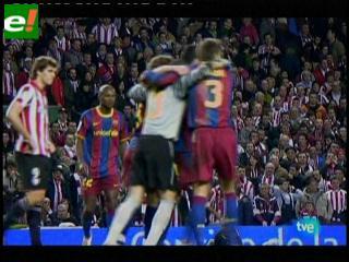 Barcelona avanza en la Copa del Rey