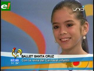 Nicole Aguirre lista para el Corso Infantil 2011