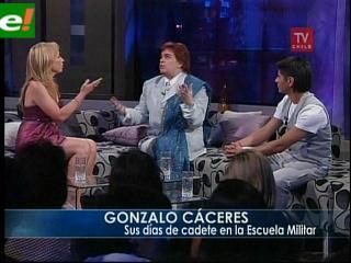 """Gonzalo Cáceres: """"Le tengo miedo al sexo"""""""