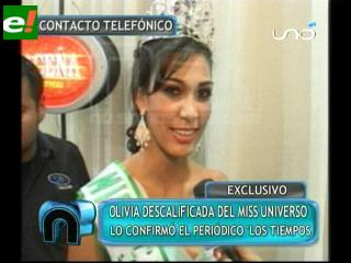 Controversia: Olivia Pinheiro pasada de edad