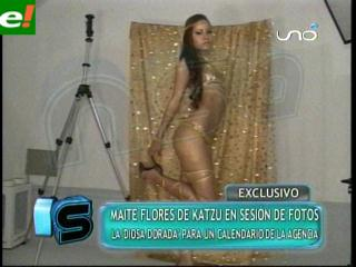 Maité Flores: La chica dorada