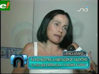 Pía Melgar espera ansiosamente a Valentino