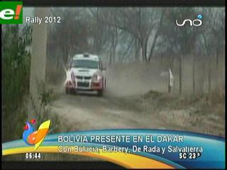 Bolivia presente en el Dakar