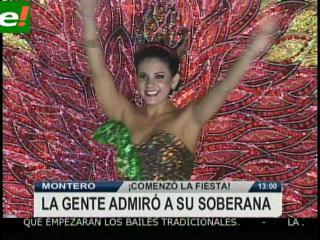 Montero primera provincia en vivir el carnaval