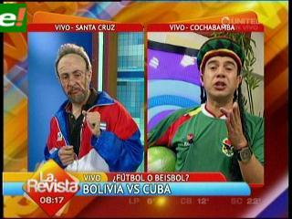 Cubanos trajeron a Fidel Castro como DT.