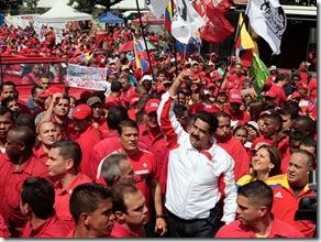 VENEZUELA-POLITICS-SUPPORTERS
