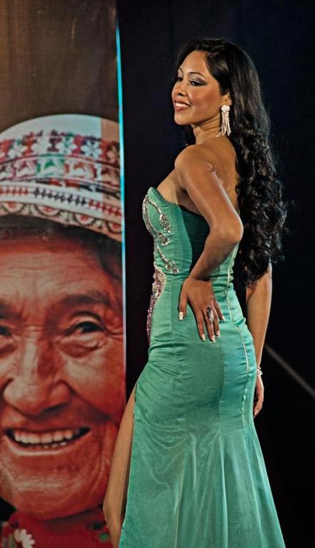 Miss Potosí 2013 Cecilia Vargas