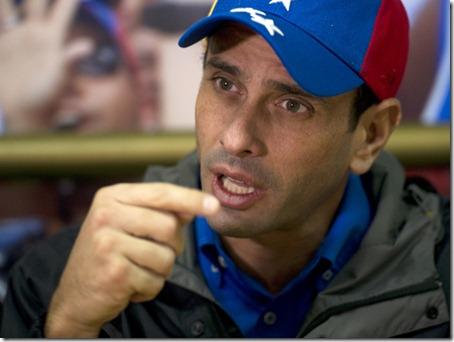 VENEZUELA-OPPOSITION-CAPRILES