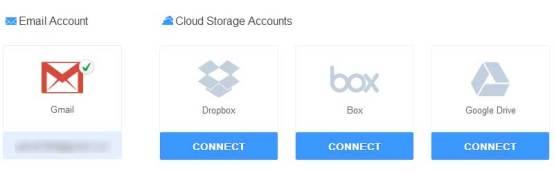 integrar correo con almacenamiento online