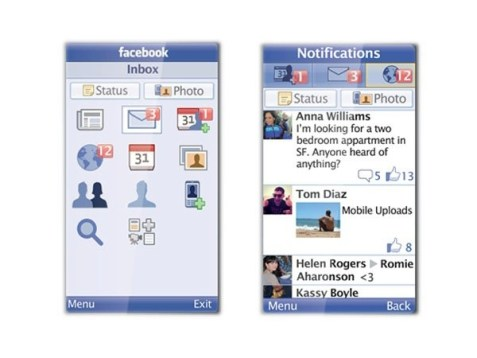 Más de 100 millones ingresan a Facebook desde celulares básicos