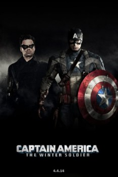 Cartel para el trailer de Captain America The Winter Soldier