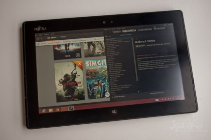 Fujitsu Stylistic Q702 Windows 8 tablet