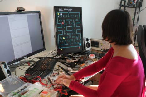 PACMAN sobre FPGA - proyectos creativos basados en fpga