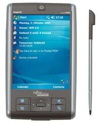 PDA de Fujitsu-Siemens
