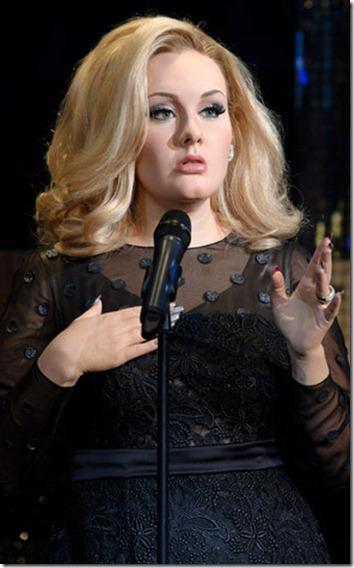Madame Tussauds Adele