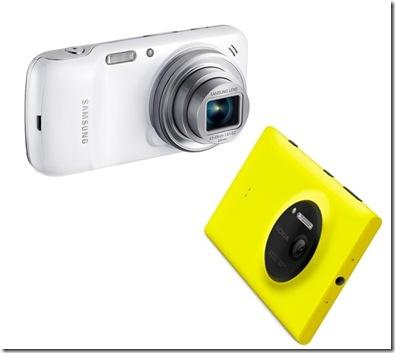 comparativa galaxy S4 y Lumia 1020