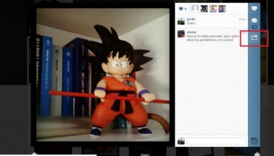insertar fotos de instagram