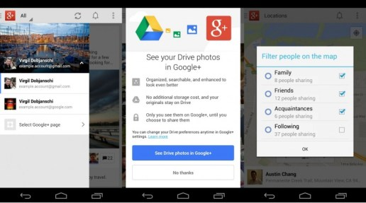 Nuevo Google plus para Android