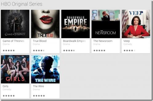 HBO en Google play