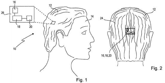 Sony trata de patentar la 'SmartWig', una peluca con vibración, GPS... ¡y hasta pases de diapositivas!