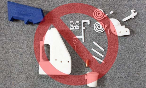 Filadelfia prohíbe oficialmente fabricar armas impresas en 3D