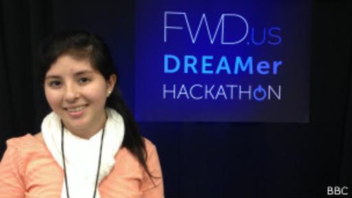 Dayana Torres llegó a EE.UU. cuando tenía 9 años y actualmente se está beneficiando de l la moratoria que frenó la deportación de jóvenes indocumentados.