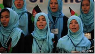 Jóvenes en Afganistán luchan por defender sus derechos.