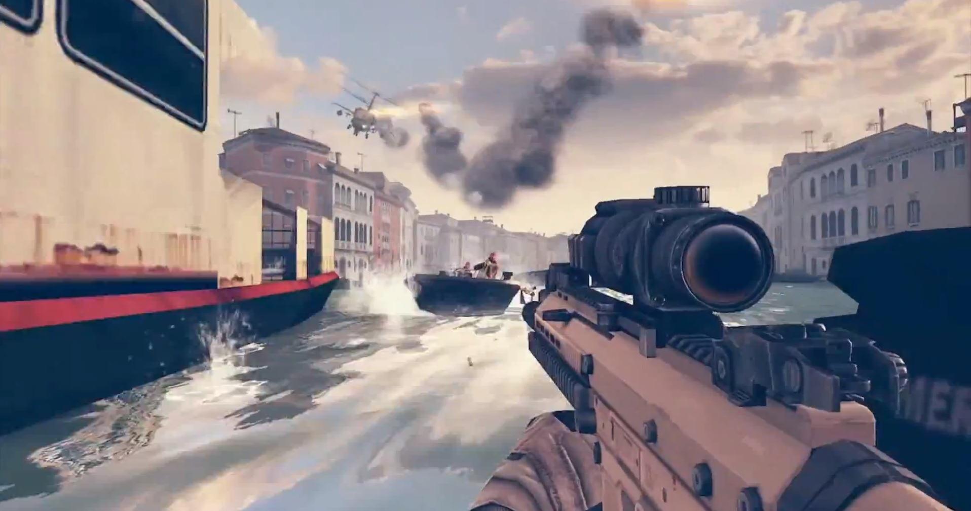Modern Combat 5 será el primer juego optimizado para smartphones octa-core
