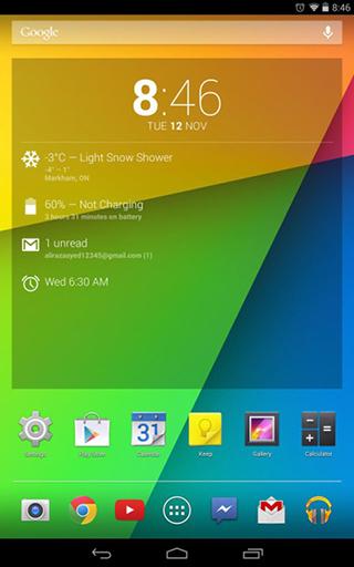 Android 4.4 Nexus 7