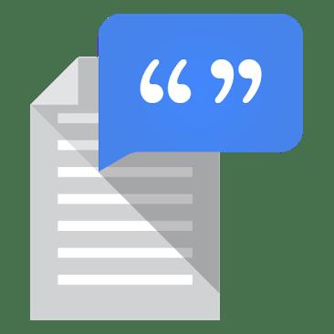 Síntesis de voz de Google