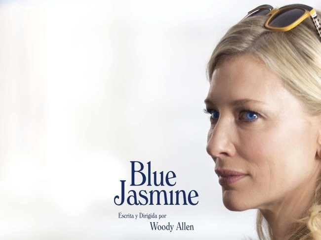 Cartel español de Blue Jasmine