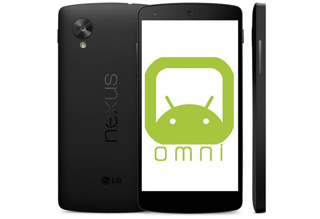 OmniRom Nexus 5