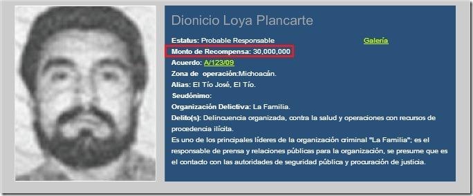 Dionicio-Loya-Plancarte-El-Tío-recompensa-PGR