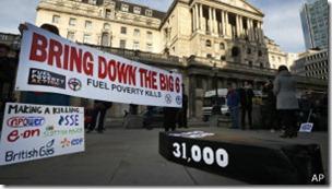 En Reino Unido se acuñó el término pobreza energética.