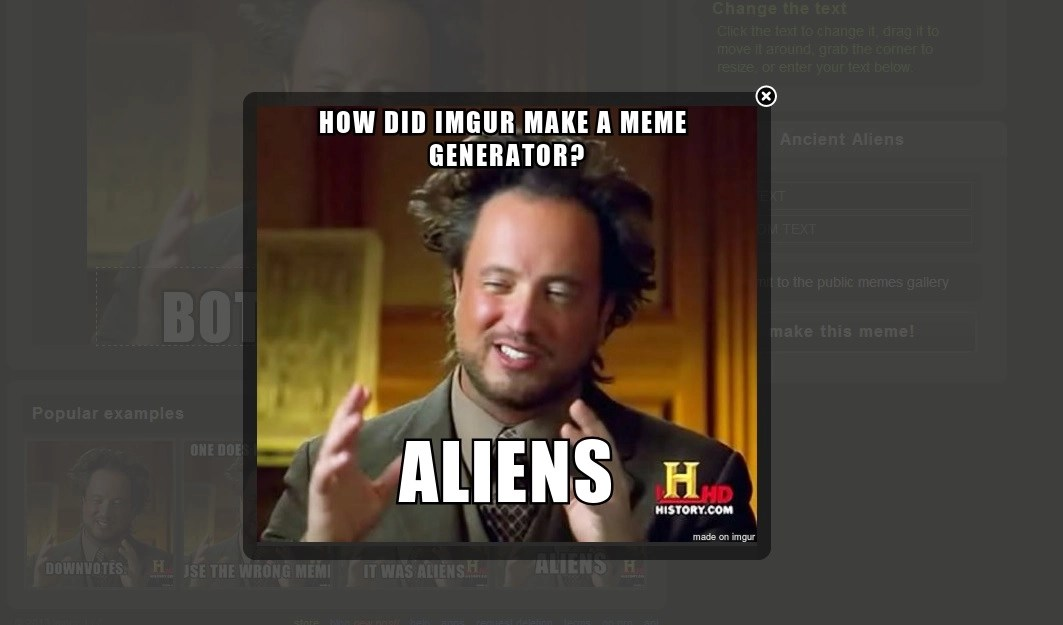 Meme Generator Imgur