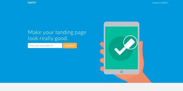Flatty plantilla en HTML