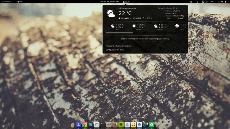 extensiones gnome shell