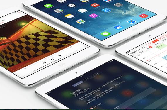 ipad mini Las tablets ven crecer sus ventas un 50% pero comienzan a estancarse