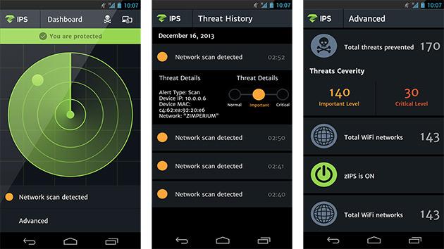 zIPS, una app Android que estudia el comportamiento de tu móvil para detectar malware