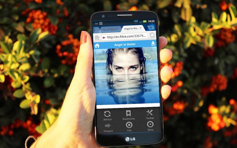 5 alternativas al navegador nativo de Android dolphin