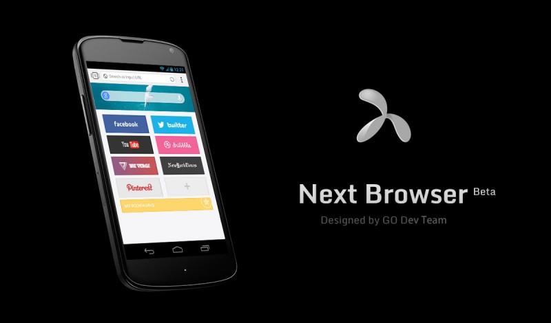 5 alternativas al navegador nativo de Android next browser