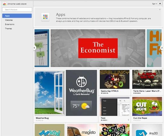 Las aplicaciones de Chrome pronto funcionarán sin el navegador