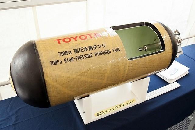 Tanque de hidrógeno Toyota FCV