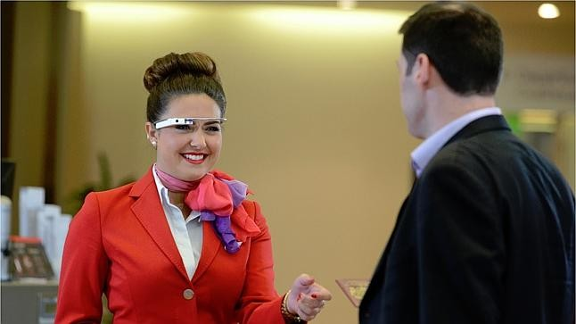Virgin Google Glass