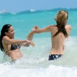 Cara Delevingne and Michelle Rodriguez (14)