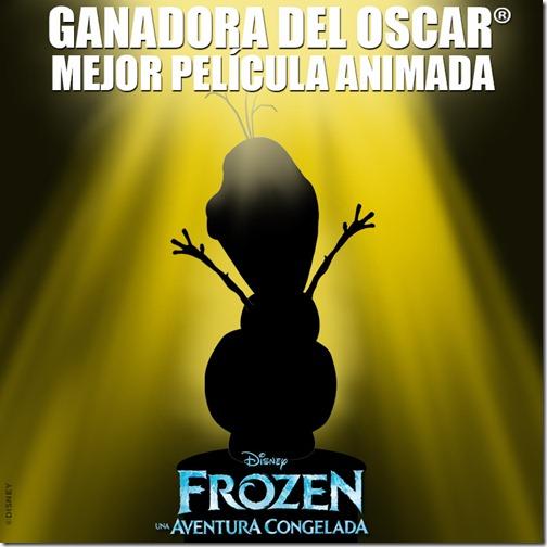 Frozen Ganadora del Oscar