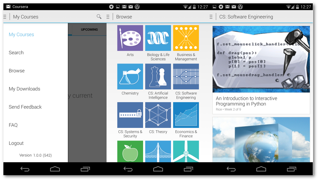 coursera para android
