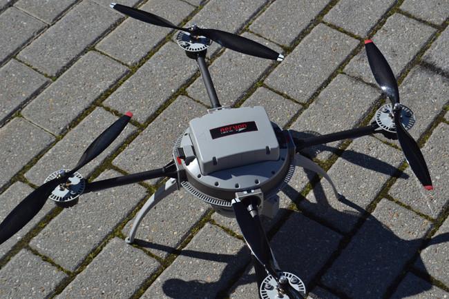 Siemens Drone Aeryon Scout