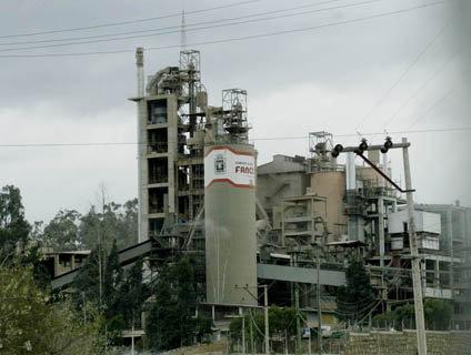 FÁBRICA. La planta de Cal Orck'o.