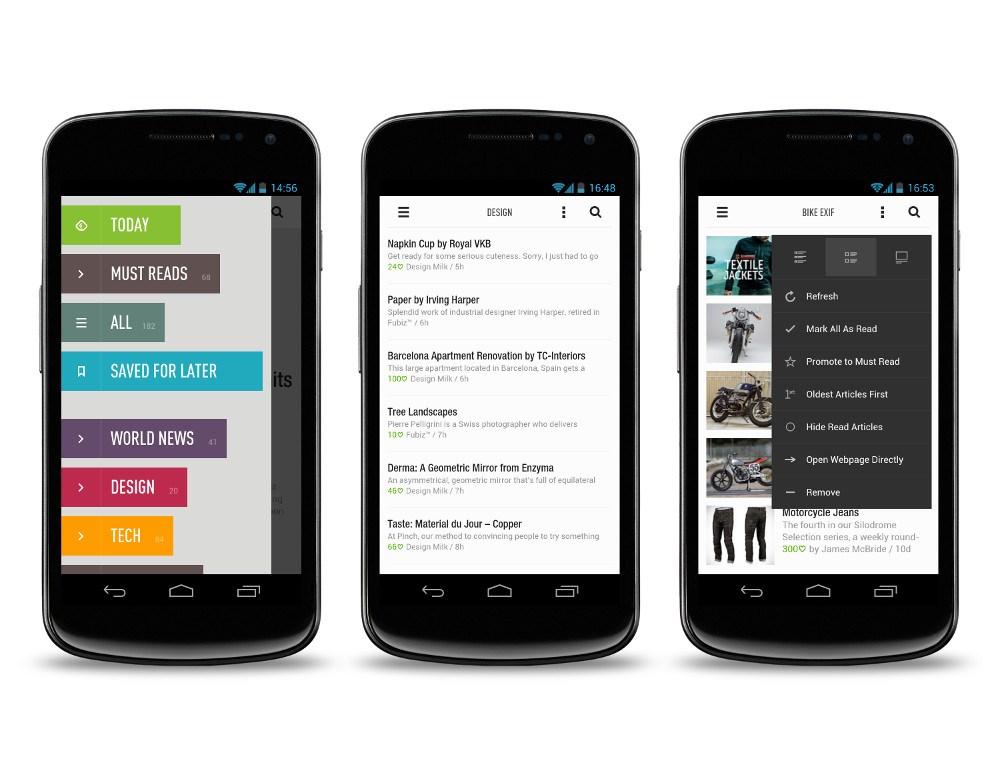 feedly aplicaciones bonitas para android